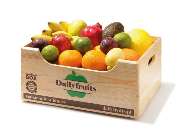 owoce do biur - dostawa - zestaw premium
