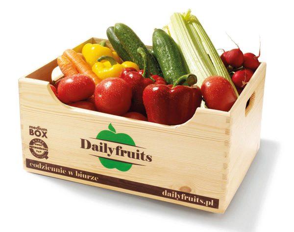 warzywa do biura - dostawy w skrzynce