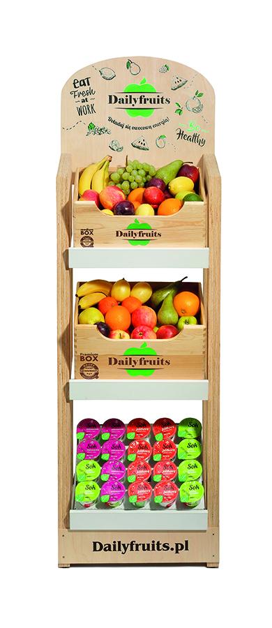 przechowywanie owoców w biurach