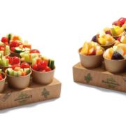 warzywa krojone dla pracownika