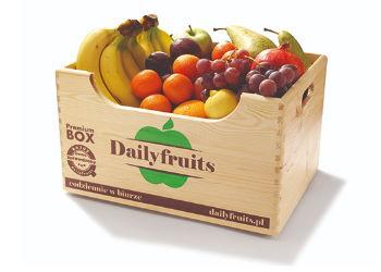 dostawy owoców do biur - skrzynka