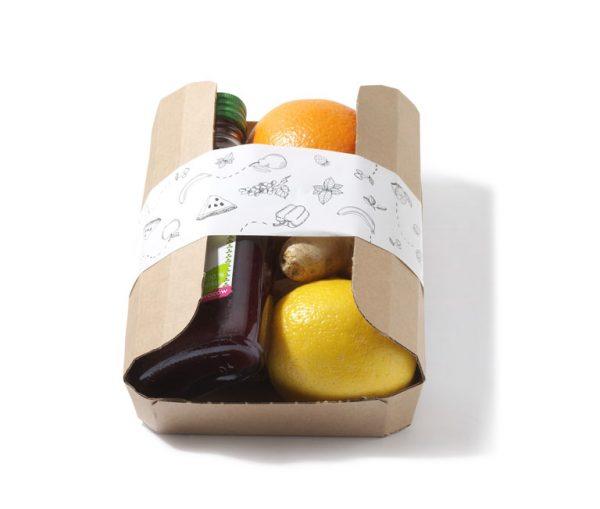 tacka owoców dla pracownika