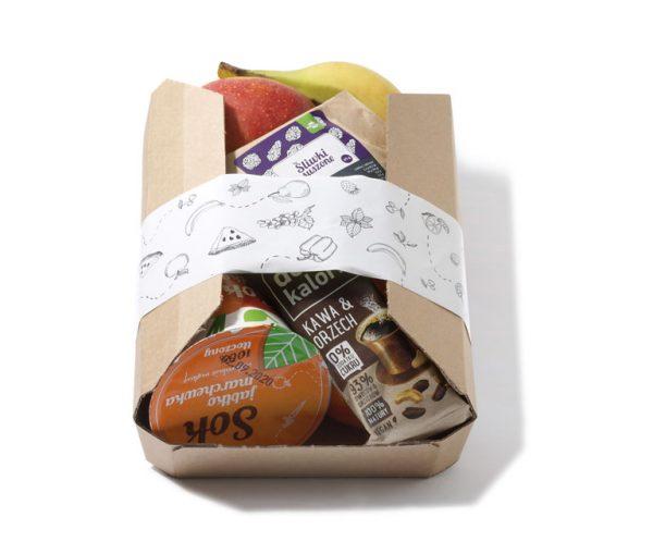 zestaw owoców dla pracownika