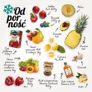 owoce i warzywa na odporność